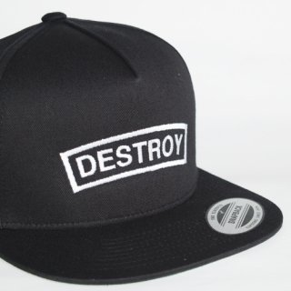DSTRY SNAPBACK(BLACK)
