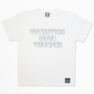 <img class='new_mark_img1' src='//img.shop-pro.jp/img/new/icons1.gif' style='border:none;display:inline;margin:0px;padding:0px;width:auto;' /> TOPNATION×KAZZROCK COLAB 20TH ANNIVERSARY T-SHIRT (WHITE)