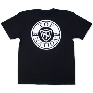 TOPNATION<br> BACK SINCE97 T-SHIRT <br>(BLACK)