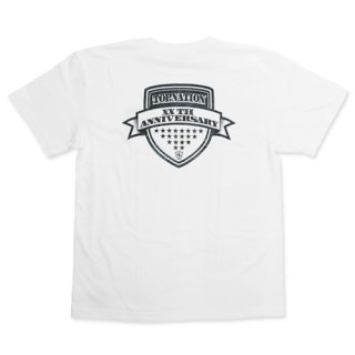 TOPNATION 20TH ANNIVERSARY T-SHIRT (WHITE)