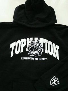 <img class='new_mark_img1' src='//img.shop-pro.jp/img/new/icons1.gif' style='border:none;display:inline;margin:0px;padding:0px;width:auto;' /> TOPNATION R>A>E TN DOG HOODY (BLACK)