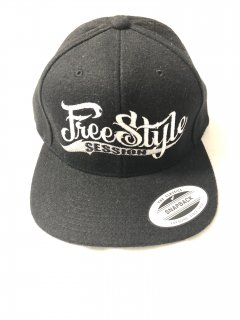 <img class='new_mark_img1' src='//img.shop-pro.jp/img/new/icons1.gif' style='border:none;display:inline;margin:0px;padding:0px;width:auto;' />FREESTYLE SESSION <br>WOOL SNAPBACK (BLACK)