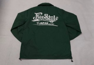 <img class='new_mark_img1' src='https://img.shop-pro.jp/img/new/icons1.gif' style='border:none;display:inline;margin:0px;padding:0px;width:auto;' />TOPNATION<br>FREESTYLE SESSION JAPAN<br>NYLON COACH JACKET<br> (GREEN)