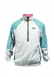 <img class='new_mark_img1' src='//img.shop-pro.jp/img/new/icons16.gif' style='border:none;display:inline;margin:0px;padding:0px;width:auto;' />KIDS UNDER WORLD F3 MAX Windproof pullover jacket (G/PINK/GREEN)