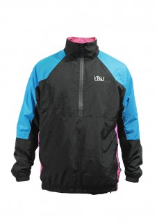 KIDS UNDER WORLD F3 MAX Windproof pullover jacket (B/PINK/BLUE)