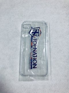 TOPNATION <br>i Phone CASE (CLEAR)