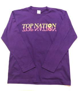 <img class='new_mark_img1' src='//img.shop-pro.jp/img/new/icons1.gif' style='border:none;display:inline;margin:0px;padding:0px;width:auto;' />TOPNATION W LOGO L/S T-SHIRT (PURPLE)