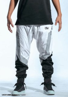 <img class='new_mark_img1' src='//img.shop-pro.jp/img/new/icons1.gif' style='border:none;display:inline;margin:0px;padding:0px;width:auto;' />UNDER WORLD <br>F3 MAX U Windproof trousers<br> ( WHITE/BLACK)