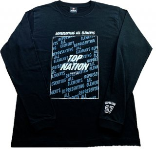 TOPNATION R.A.E. L/S T-SHIRTS (BLACK/GREY)