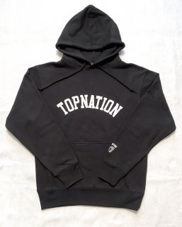 <img class='new_mark_img1' src='https://img.shop-pro.jp/img/new/icons1.gif' style='border:none;display:inline;margin:0px;padding:0px;width:auto;' />TOPNATION PULLOVER HOODIE (BLACK)
