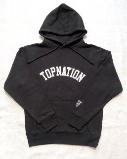 TOPNATION PULLOVER HOODIE (BLACK)