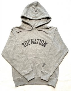 <img class='new_mark_img1' src='https://img.shop-pro.jp/img/new/icons1.gif' style='border:none;display:inline;margin:0px;padding:0px;width:auto;' />TOPNATION PULLOVER HOODIE (GREY)