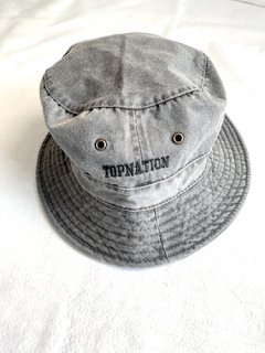 <img class='new_mark_img1' src='https://img.shop-pro.jp/img/new/icons20.gif' style='border:none;display:inline;margin:0px;padding:0px;width:auto;' />BUCKET HAT (BLACK  DENIM)