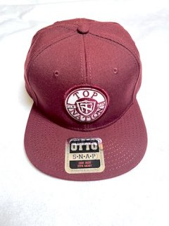 <img class='new_mark_img1' src='https://img.shop-pro.jp/img/new/icons1.gif' style='border:none;display:inline;margin:0px;padding:0px;width:auto;' />TOPNATION SINCE97 <br>SNAPBACK CAP<br>(BURGUNDY)