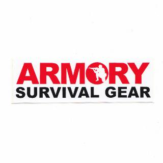 ARMORY ステッカー <br>(SURVIVAL GEAR)