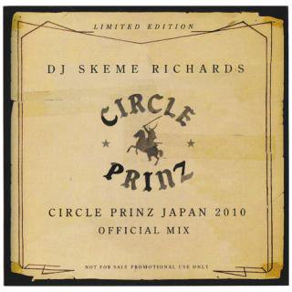 CIRCLE PRINZ JAPAN CD / DJ SKEME RICHARDS