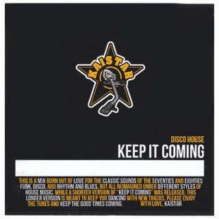 KEEP IT COMING CD / KAISTAR