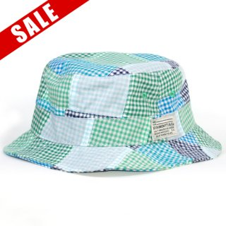 <img class='new_mark_img1' src='//img.shop-pro.jp/img/new/icons20.gif' style='border:none;display:inline;margin:0px;padding:0px;width:auto;' />7UNION PATCHWORK HAT(GREEN)