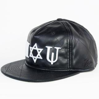 <img class='new_mark_img1' src='//img.shop-pro.jp/img/new/icons20.gif' style='border:none;display:inline;margin:0px;padding:0px;width:auto;' />7UNION HEX STAR SNAPBACK CAP (BLACK/WHITE)