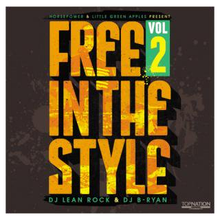 FREE IN THE STYLE vol,2 CD / DJ LEAN ROCK & DJ B-RYAN<img class='new_mark_img2' src='//img.shop-pro.jp/img/new/icons47.gif' style='border:none;display:inline;margin:0px;padding:0px;width:auto;' />