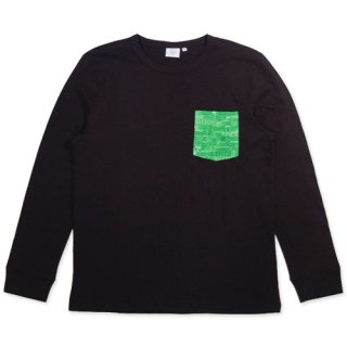 TOPNATION<br> TN Base POCET L/S T-SHIRT<br>(BLACK)