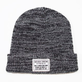 7UNION <br>7s Heather BEANIE<br>(BLACK)