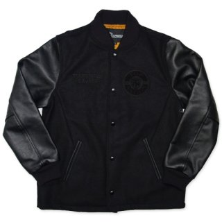 TOPNATION LEATHER STADIUM JACKET
