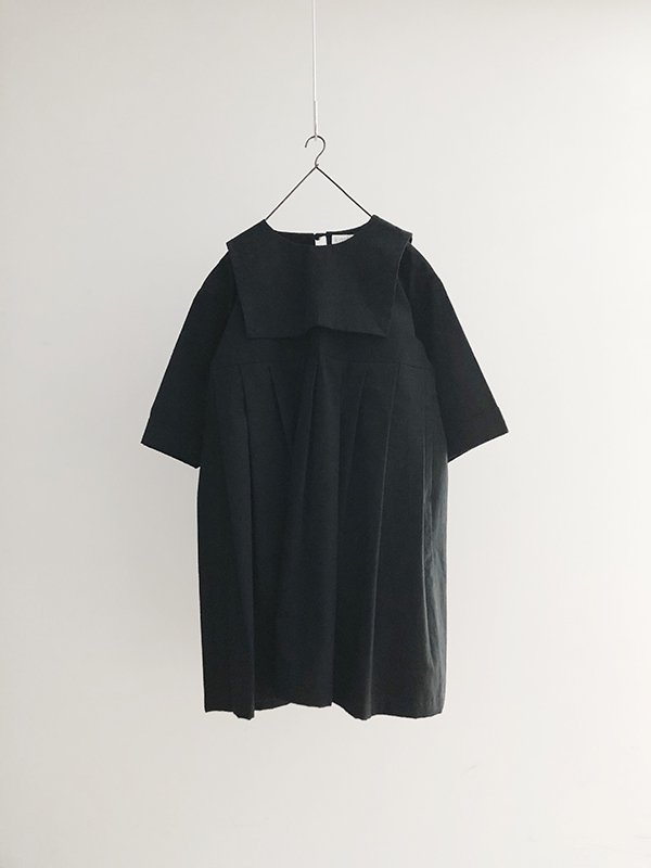 <order item>kashuka/ceremony collection/kids sailor collar dress (black/120)