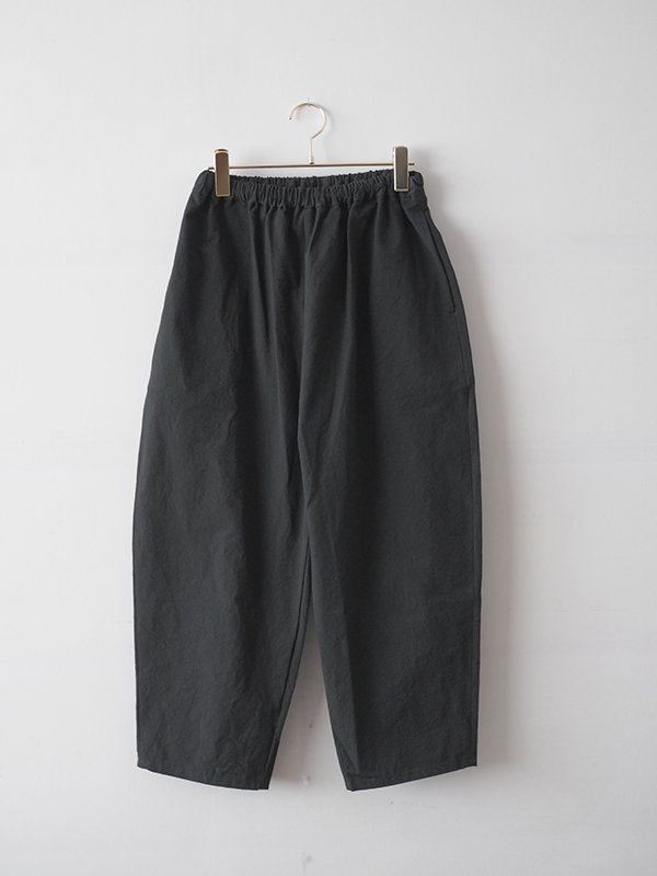 Tapered pants/black