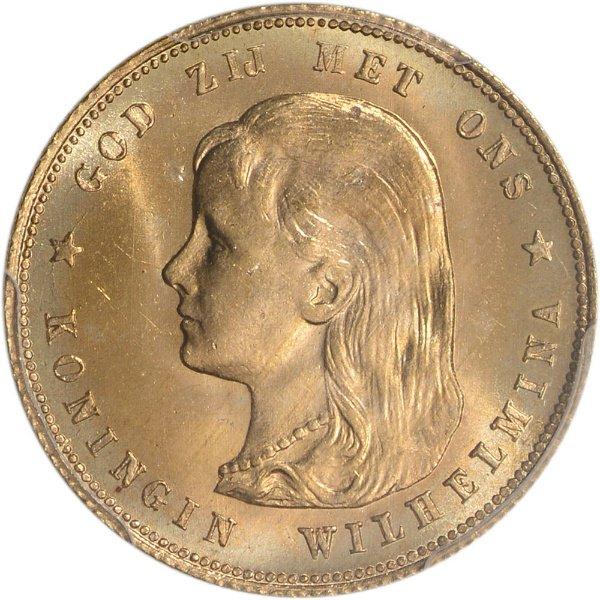 オランダ 1897 ウィルヘルミナ ...