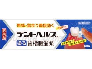 デントヘルス 塗る 歯槽膿漏薬 10g