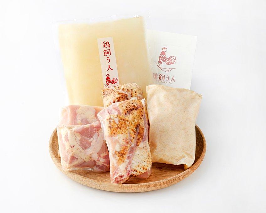 古処鶏 水炊き ご家庭用セット(5〜6人用)