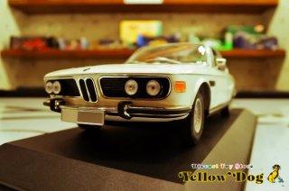 ミニチャンプス 1/18 1972 BMW 3.0 CSI E9 クーペ ホワイト