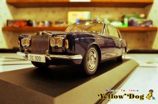 パラゴン 1/18 1968 ロールス ロイス シルバー シャドウ オックスフォード ブルー