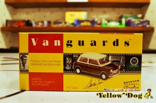 コーギー バンガーズ 1/43 スティーブ・マックイーン オースティン ミニ クーパー S