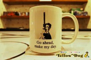クリント・イーストウッド ダーティー・ハリー マグカップ Go Ahead, Make My Day