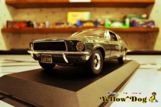 グリーンライト 1/18 1968 フォード マスタング GT ファストバック ブリット スティーブ・マックイーン