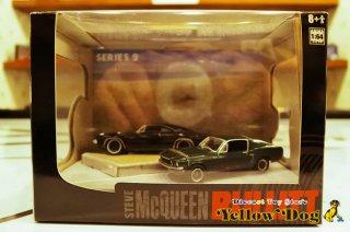 グリーンライト 1/64 1968 フォード マスタング 390 1968 ダッジ チャレンジャー ブリット シリーズ 2