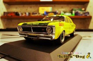 クラシック カーレクタブルズ 1/18 1972 GT-HO フォード スーパー ファルコン ATCC