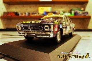 クラシック カーレクタブルズ 1/18 1972 フォード XY ファルコン フェーズ III GT-HO フレンチ #5D