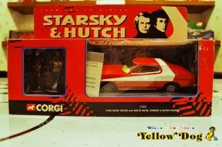 コーギー 1/36 スタスキー & ハッチ フィギュア 1974 フォード グラントリノ