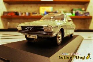 シグネチャー モデルズ 1/18 1972 アウディ 100 グレー