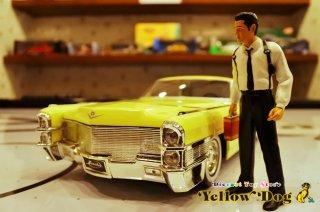 ジャダトイズ 1/18 レザボア・ドッグス 1965 キャデラック クーペ デビル