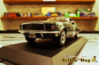 アメリカンマッスル 1/18 ERTL 1968 フォード マスタング ブリット