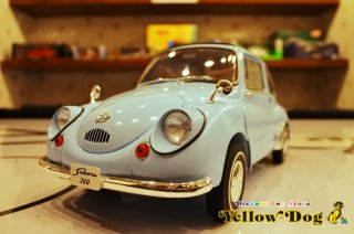 エブロ 1/12 1963 スバル 360 ライト ブルー