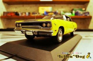 GMP 1/18 1970 プリマス ロードランナー コンバーチブル レモンツイスト