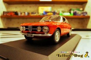 オートアート 1/18 1967 アルファロメオ 1750 GTV レッド