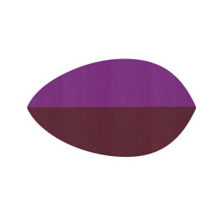 リーフ形/プラム&チョコレート