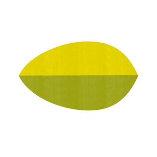 リーフ形/レモン&スプラウト