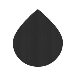 しずく形/ブラック